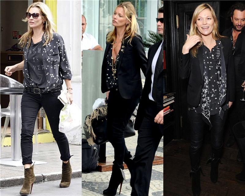 Kate Moss 与法国品牌 Equipment 玩联名,直言自己是 Tomboy | 理想生活实验室 - 为更理想的生活