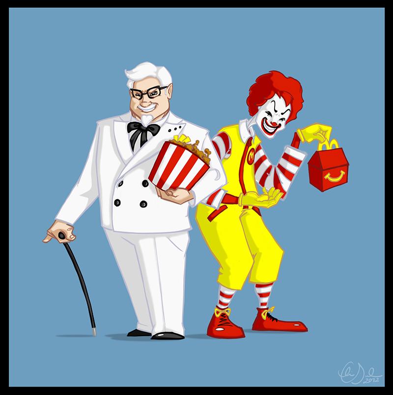 不过从另一个层面,肯德基和麦当劳为代表的外资餐饮品牌在国内的压力