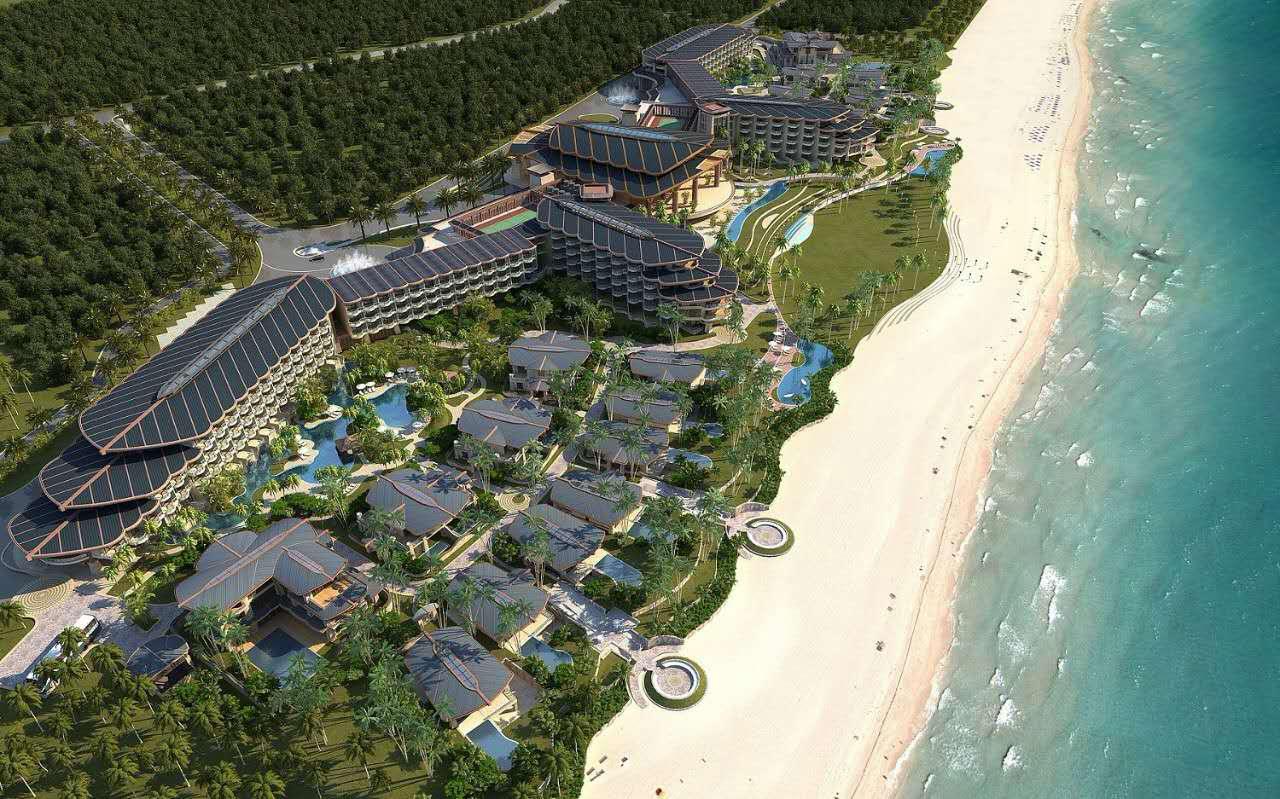 石梅湾威斯汀度假酒店日前在海南石梅湾正式开业,这是万豪在海南的第