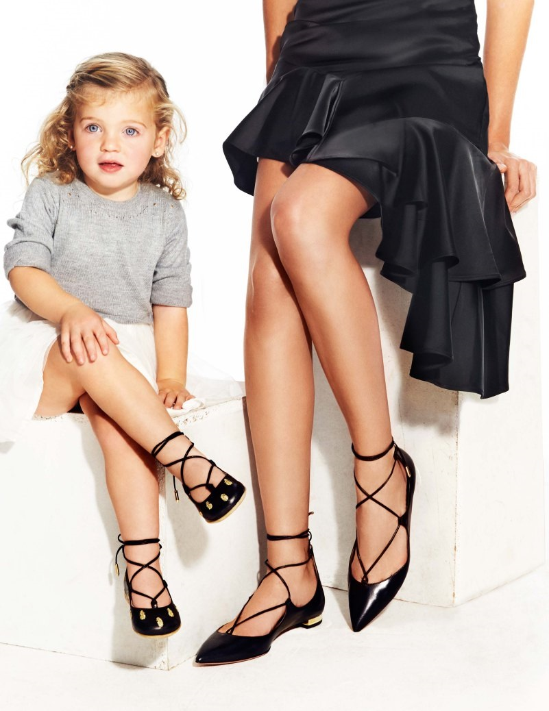 Aquazzura 推出童鞋系列 Aquazzura Mini,最高售价达 550 美金 | 理想生活实验室 - 为更理想的生活