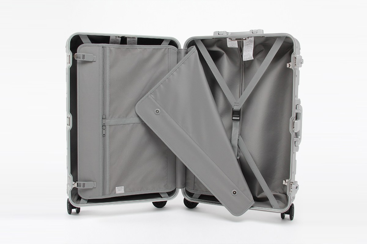 muji 发布金属材质旅行箱,差一点点就跟小米的一样了