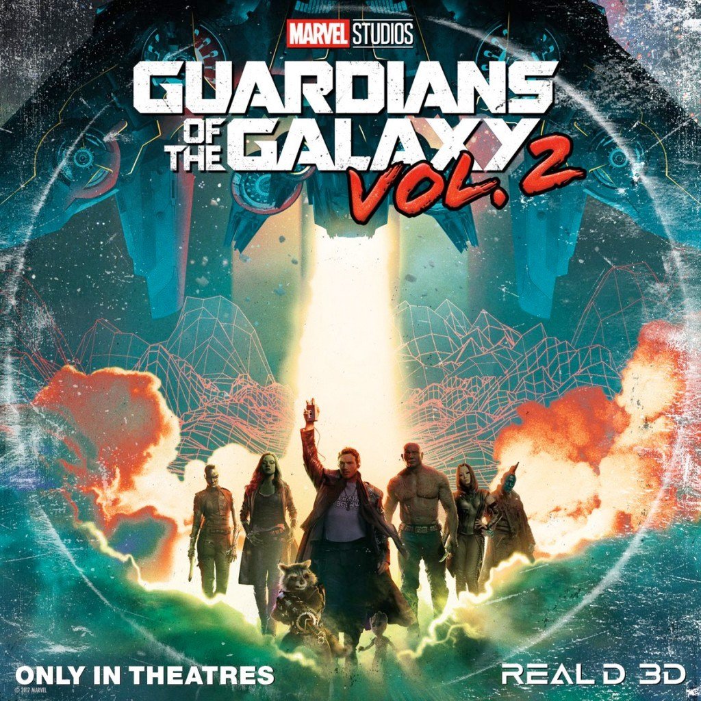 《银河护卫队 2》发布新版海报和预告片,宇宙逗笑天团