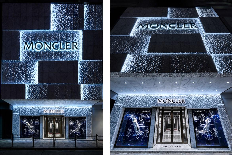 黄铜质感_Moncler 在香港海港城开出的亚太区旗舰店,也是品牌史上面积最大 ...