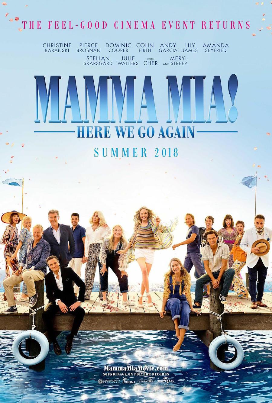 今日消费资讯:《妈妈咪呀 2:再次出发!》内地定档 8 月 3 日、Vans 推出全新安纳海姆经典系列