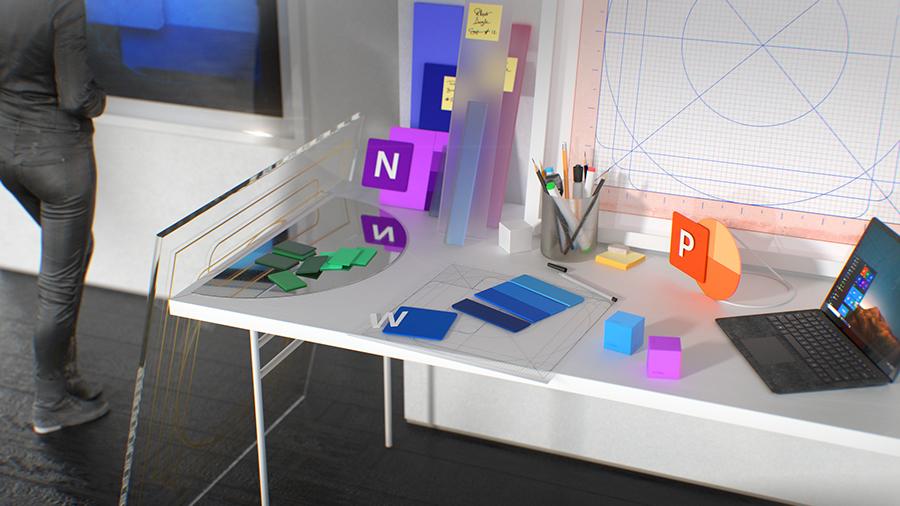 微软重新设计的 Office 系列图标亮相了,来看看都有怎样的变化
