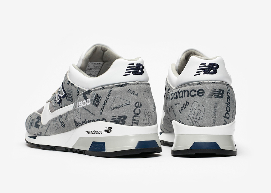 b5986ce81a6f0 当你把辨识度极高的logo 印满整个鞋面将会是怎样的效果呢?这双即将上市的New Balance 1500 做出了示范。
