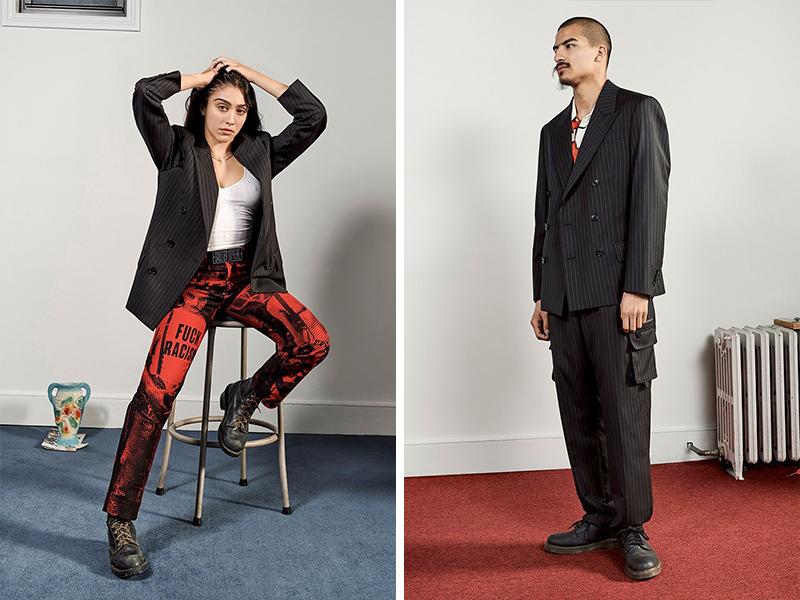 强调中性风,Supreme 和Jean Paul Gaultier 联名系列正式发布